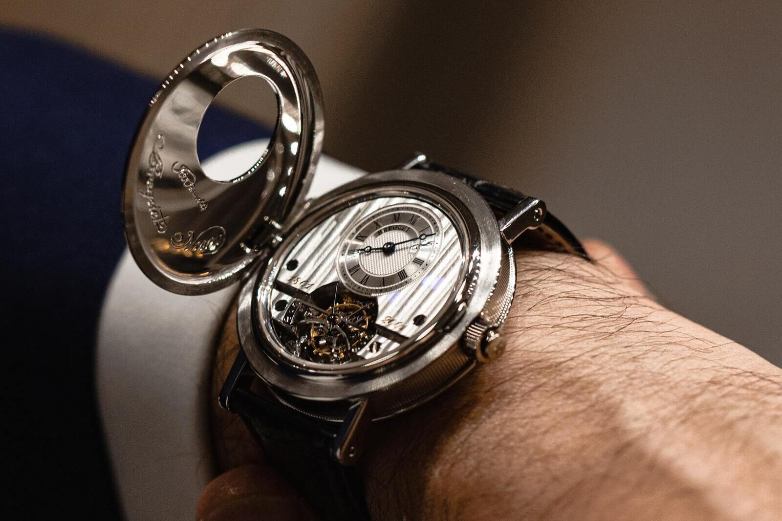 The Breguet 1801PT Limited Edition. 200yrs, 2 geniuses, celebrated in a watch.